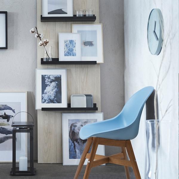 FANBYN Chaise, bleu clair/intérieur/extérieur