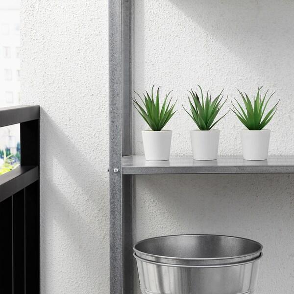 FEJKA Plante artificielle en pot, intérieur/extérieur succulente, 6 cm