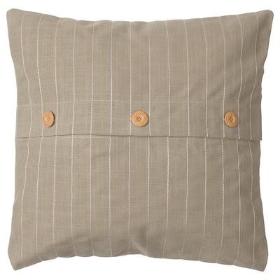 FESTHOLMEN Housse de coussin, intérieur/extérieur/beige, 50x50 cm