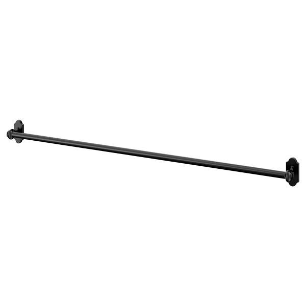 FINTORP Barre support, noir, 79 cm