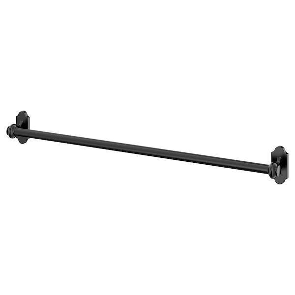 FINTORP barre support noir 57 cm 1.6 cm