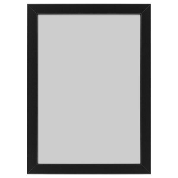FISKBO Cadre, noir, 21x30 cm