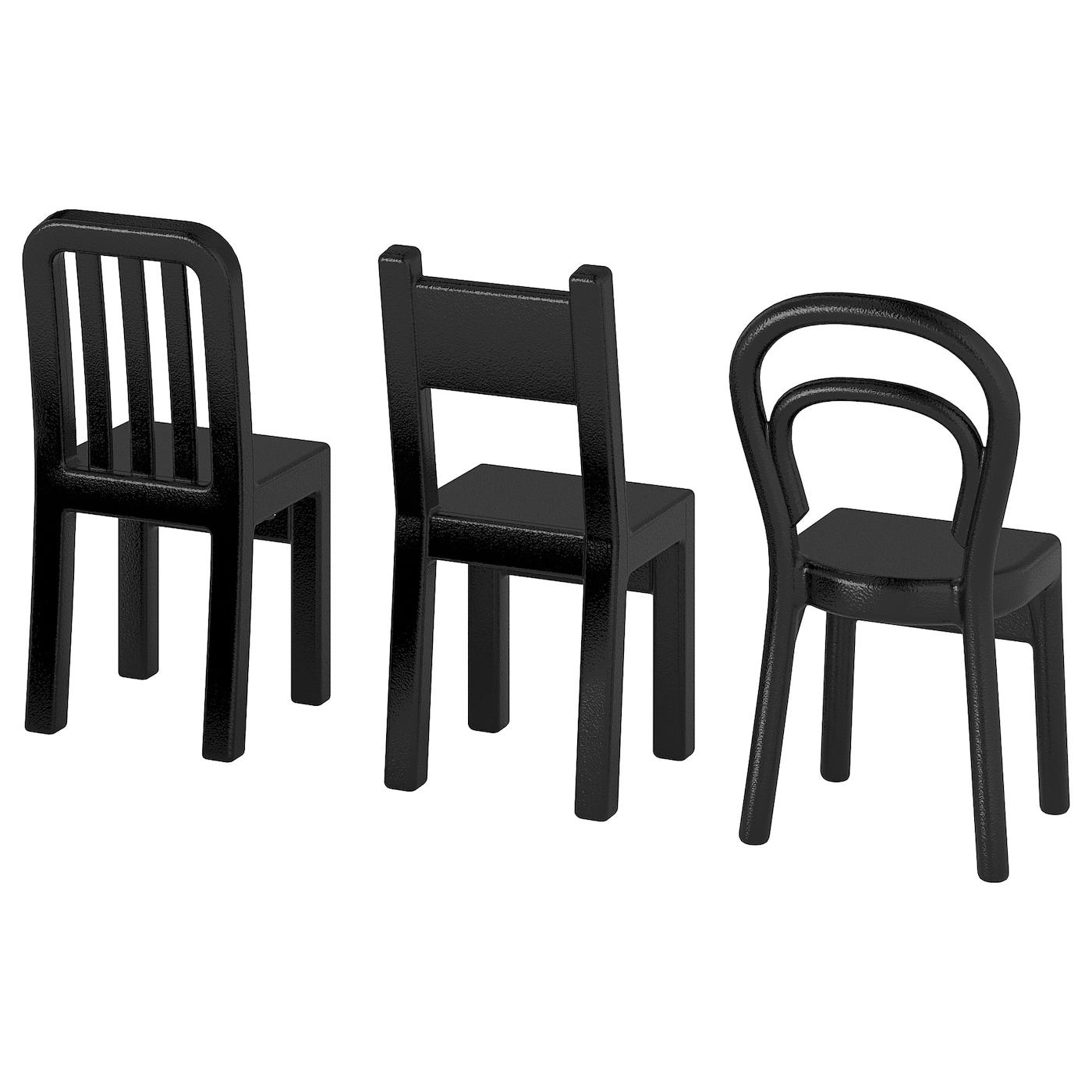 IKEA spruttig Cintre en Noir; 10 Pièces Cintre