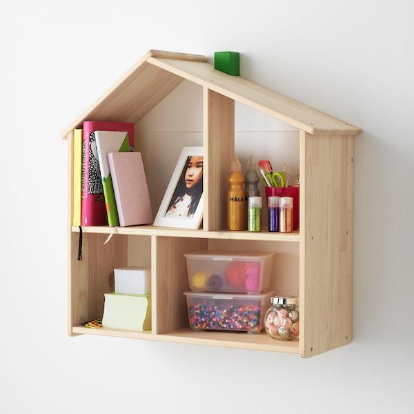 FLISAT Maison de poupée/étagère murale