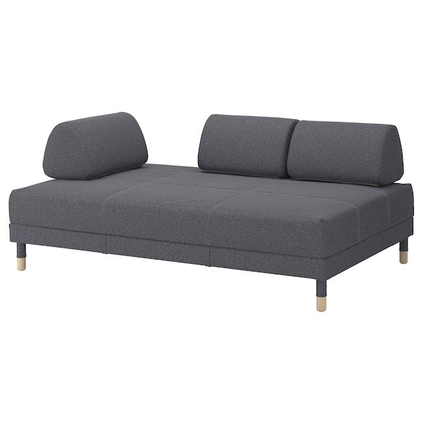 FLOTTEBO canapé-lit 3 places Gunnared gris moyen 79 cm 200 cm 120 cm 92 cm 46 cm 120 cm 200 cm