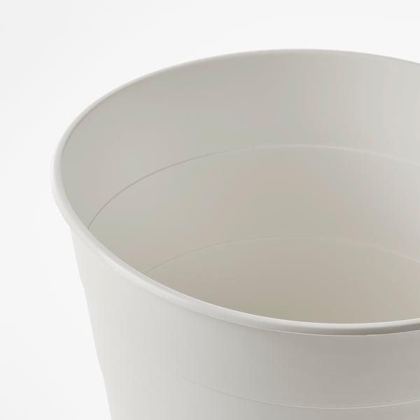 FNISS Poubelle, blanc, 10 l