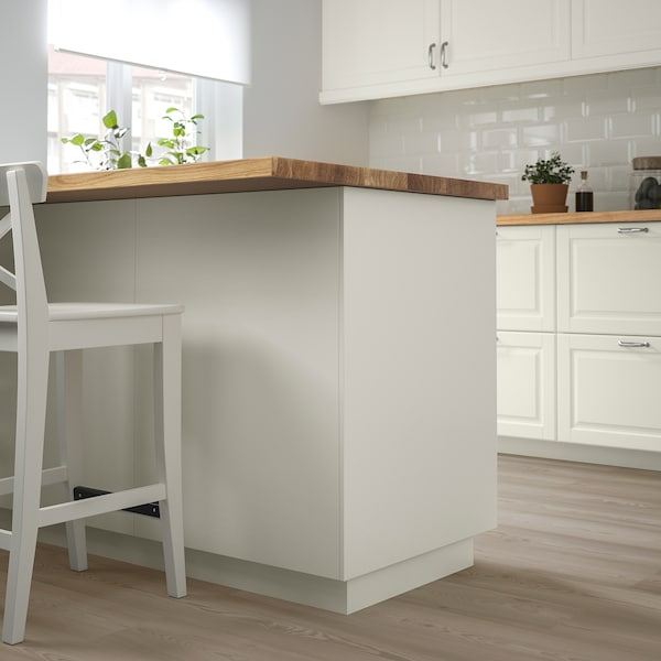 FÖRBÄTTRA Panneau latéral de finition, blanc cassé, 39x86 cm