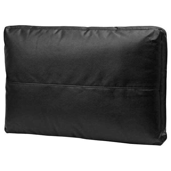 FRIHETEN Coussin, Bomstad noir, 67x47 cm