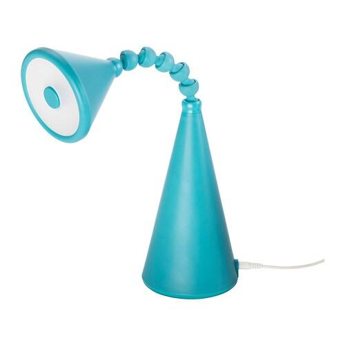 fryebo lampe de table led turquoise ikea. Black Bedroom Furniture Sets. Home Design Ideas