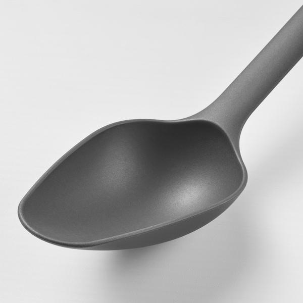 FULLÄNDAD Cuillère, gris, 33 cm