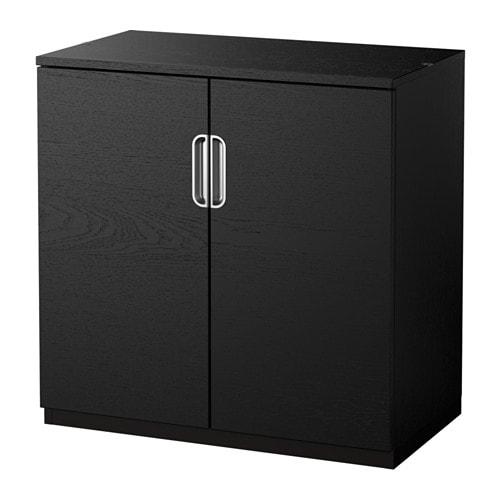 galant armoire avec portes brun noir ikea. Black Bedroom Furniture Sets. Home Design Ideas
