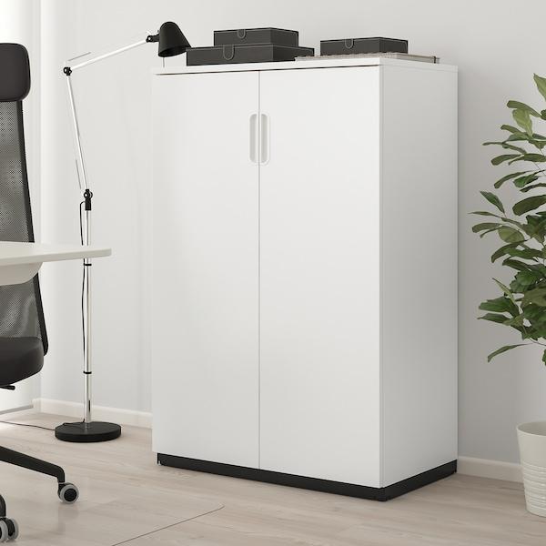 Galant Armoire Avec Portes Blanc 80x120 Cm Ikea