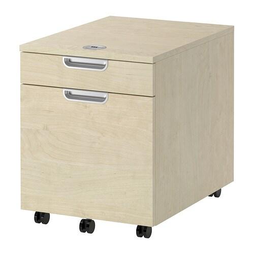 galant caisson dossiers suspendus plaqu bouleau ikea. Black Bedroom Furniture Sets. Home Design Ideas