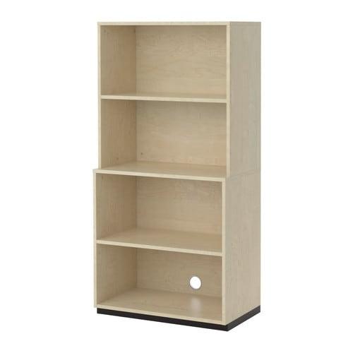 galant combinaison de rangement ouverte plaqu bouleau ikea. Black Bedroom Furniture Sets. Home Design Ideas