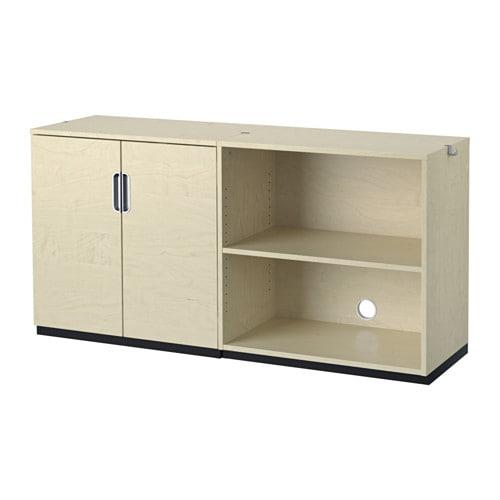 galant combinaison de rangement plaqu bouleau ikea. Black Bedroom Furniture Sets. Home Design Ideas