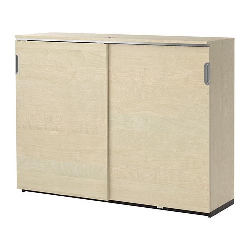 Keuken Opbergkast : IKEA Galant Cabinet with Sliding Doors