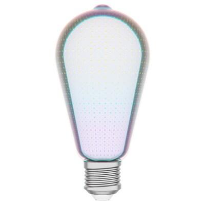 GAMSEBO Ampoule LED E27 16 lumen, forme de goutte verre, 64 mm