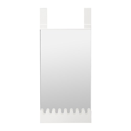 Garnes miroir susp av crochets tablette ikea for 4 miroirs vague ikea