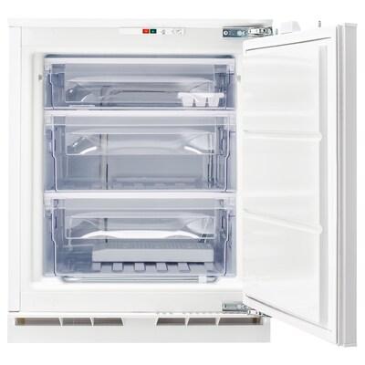 GENOMFRYSA Congélateur encastrable A+, blanc, 91 l