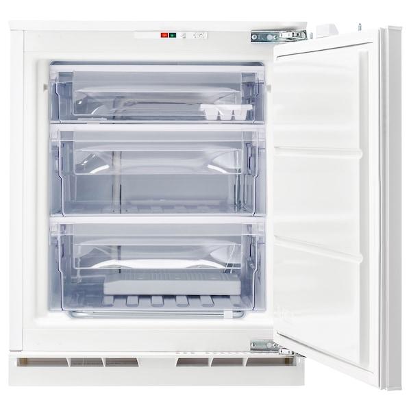 GENOMFRYSA Congélateur encastrable, blanc, 91 l