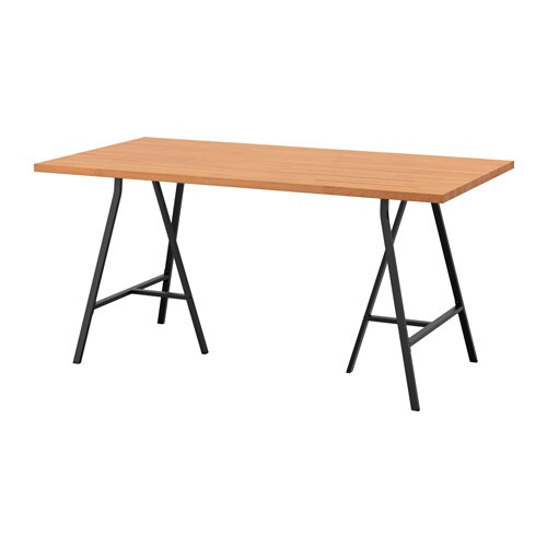 Bureau Bois Massif Ikea : IKEA Gerton Table Top Assembly