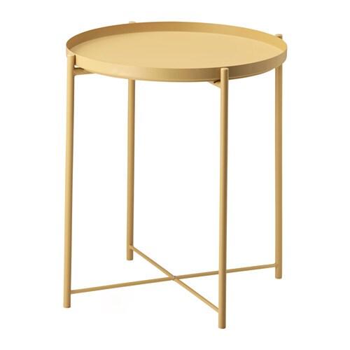Gladom table plateau jaune clair ikea for Ikea retourne la livraison