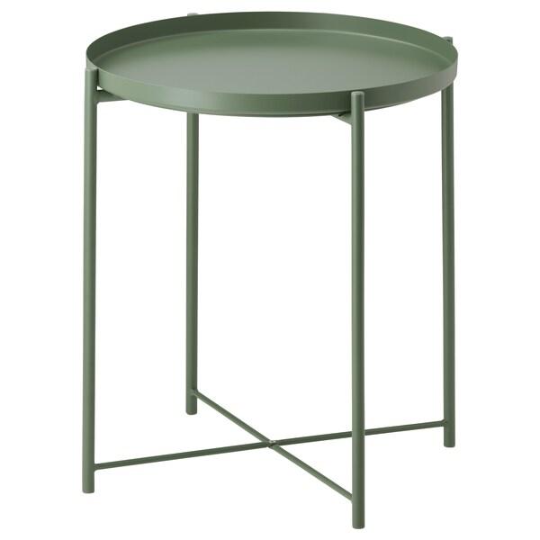 Table/plateau GLADOM vert foncé