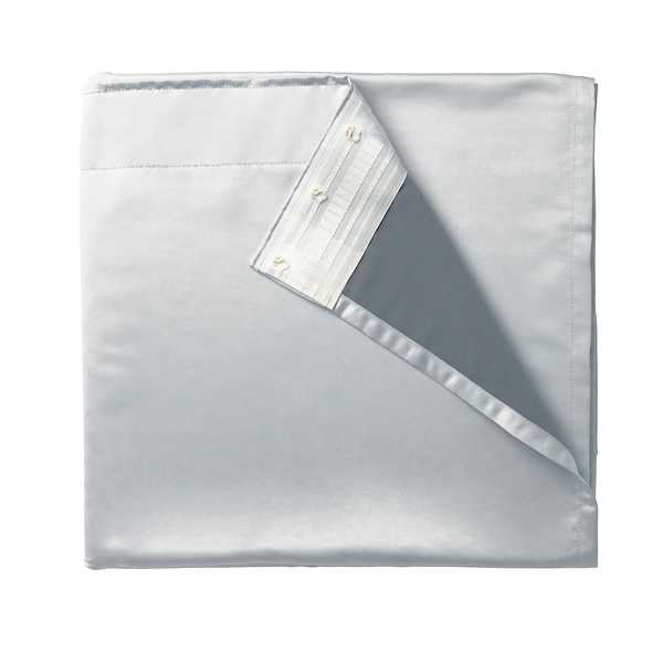 GLANSNÄVA Rideau, 2 pièces, gris clair, 143x290 cm