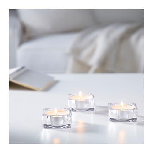 glimma bougie ch plat non parf sup m t ikea. Black Bedroom Furniture Sets. Home Design Ideas