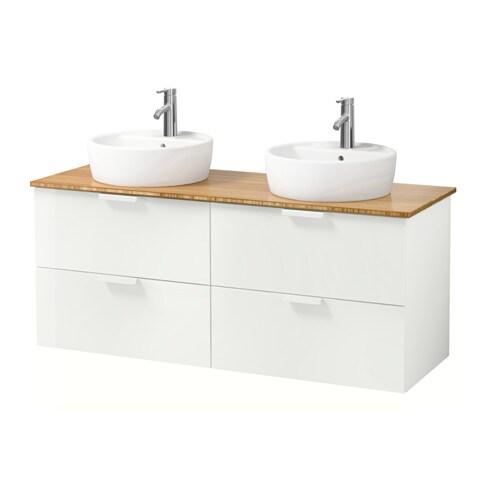 godmorgon aldern t rnviken meuble lavabo av lavabo poser 45 blanc bambou ikea. Black Bedroom Furniture Sets. Home Design Ideas