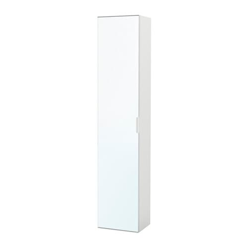 Godmorgon Armoire Avec Porte Miroir Blanc Ikea