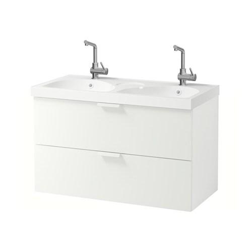 Godmorgon edeboviken meuble lavabo 2tir blanc ikea - Ikea meuble salle de bain godmorgon ...