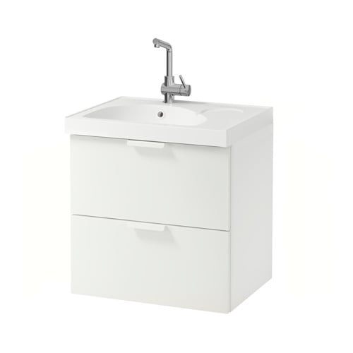 godmorgon edeboviken meuble lavabo 2tir blanc ikea. Black Bedroom Furniture Sets. Home Design Ideas