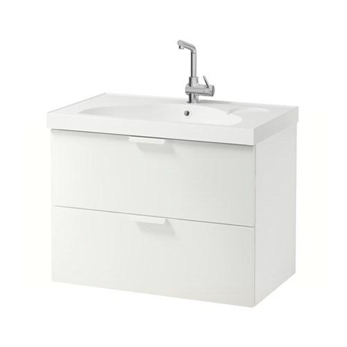 godmorgon edeboviken meuble lavabo 2tir effet chne blanchi ikea