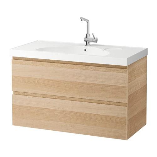 godmorgon edeboviken meuble lavabo 2tir effet ch ne blanchi ikea. Black Bedroom Furniture Sets. Home Design Ideas