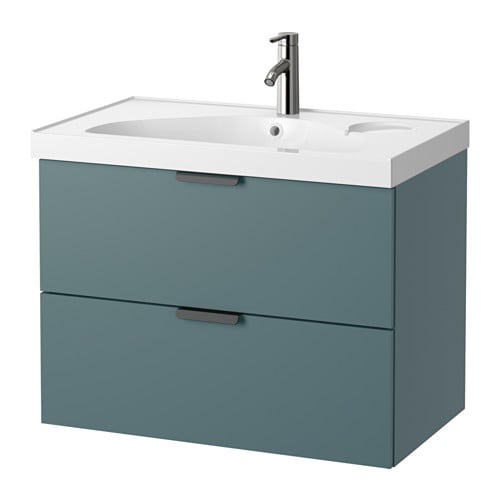 godmorgon edeboviken meuble lavabo 2tir gris turquoise ikea. Black Bedroom Furniture Sets. Home Design Ideas