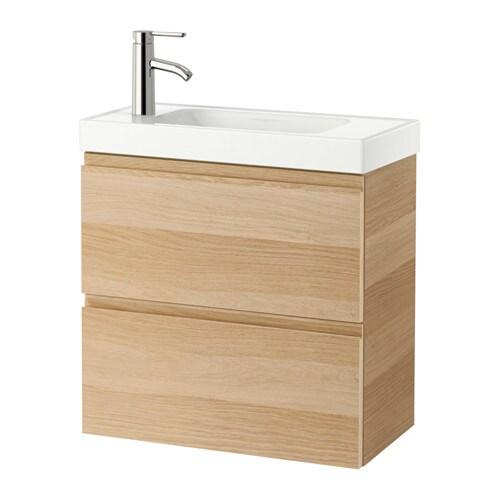 Godmorgon hagaviken meuble lavabo 2tir effet ch ne for Mobilier salle de bain ikea