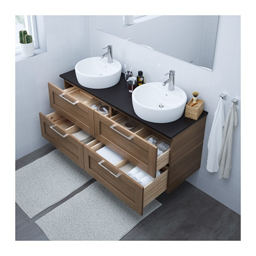 ikea meuble salle de bain godmorgon excellent gallery of plan de travail salle de bain ikea. Black Bedroom Furniture Sets. Home Design Ideas