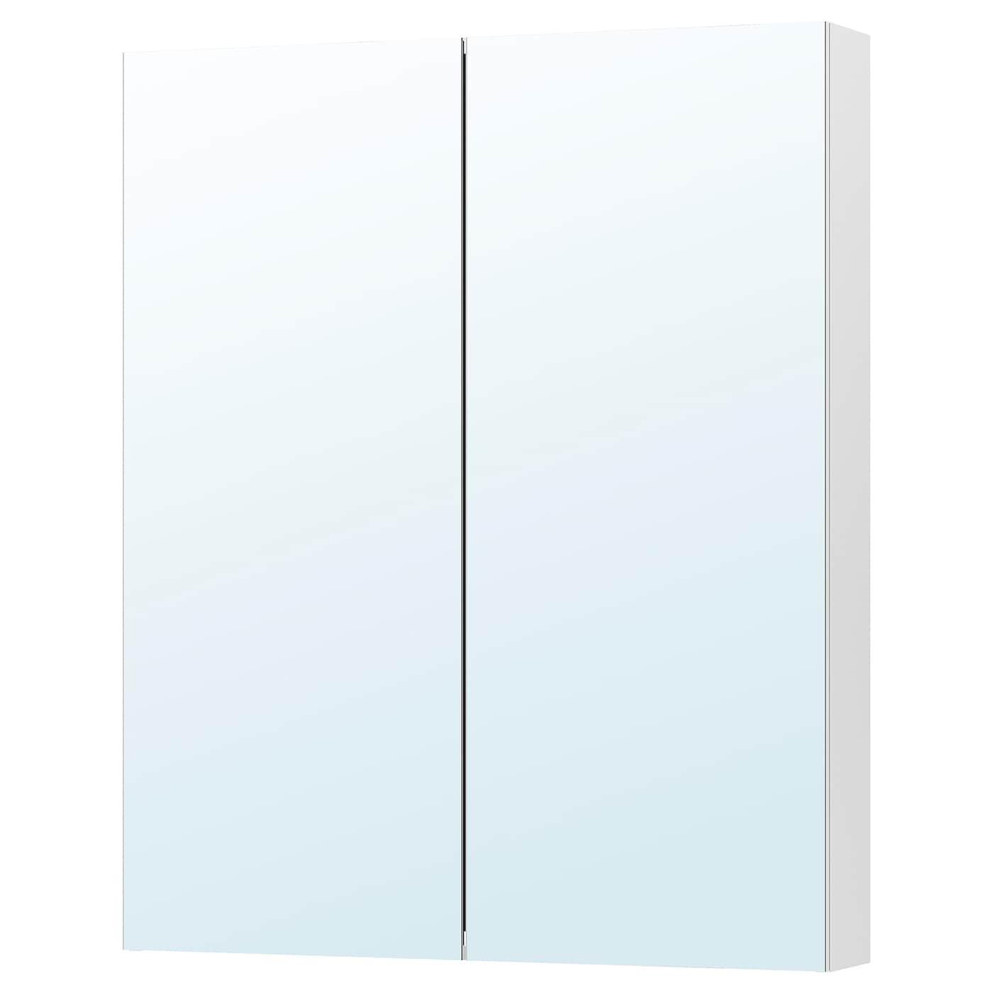 Meuble Dessus Toilette Ikea godmorgon meuble � miroir 2 portes 80x14x96 cm