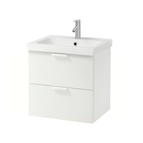 godmorgon odensvik meuble lavabo 2tir blanc ikea. Black Bedroom Furniture Sets. Home Design Ideas