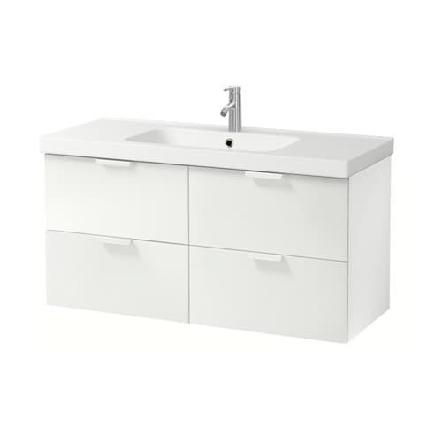 godmorgon odensvik meuble lavabo 4tir blanc ikea. Black Bedroom Furniture Sets. Home Design Ideas