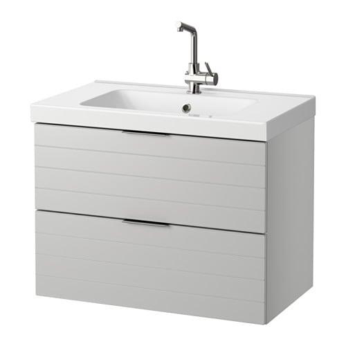 Meuble vasque godmorgon for Meuble salle de bain ikea godmorgon