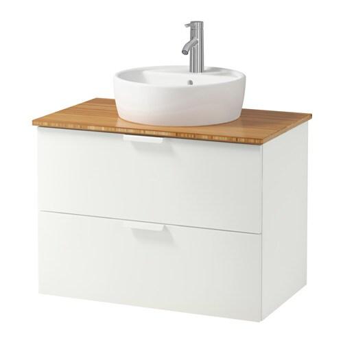 Godmorgon tolken t rnviken meuble lavabo av lavabo for Meuble lavabo bambou