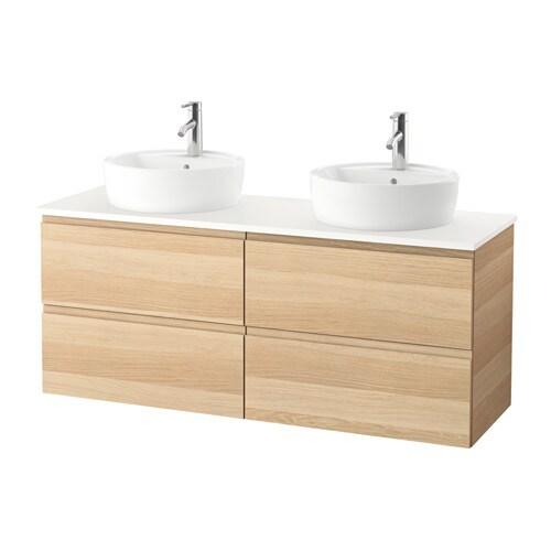 godmorgon tolken t rnviken meuble lavabo av lavabo poser 45 blanc effet ch ne blanchi ikea. Black Bedroom Furniture Sets. Home Design Ideas