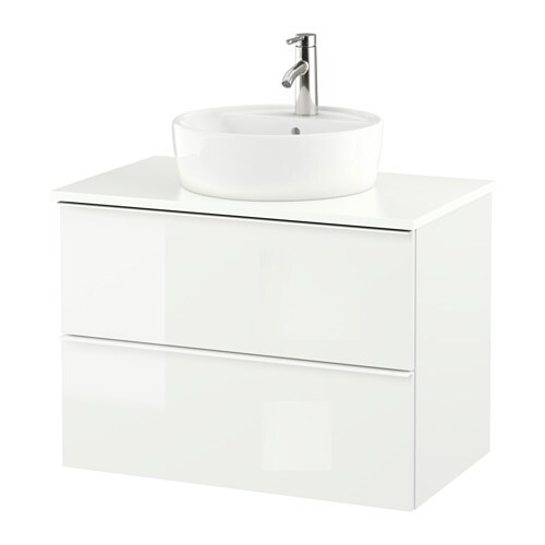 Godmorgon tolken t rnviken meuble lavabo av lavabo - Meuble pour vasque a poser ikea ...