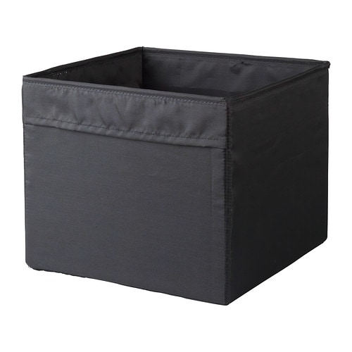gop n rangement tissu noir ikea. Black Bedroom Furniture Sets. Home Design Ideas