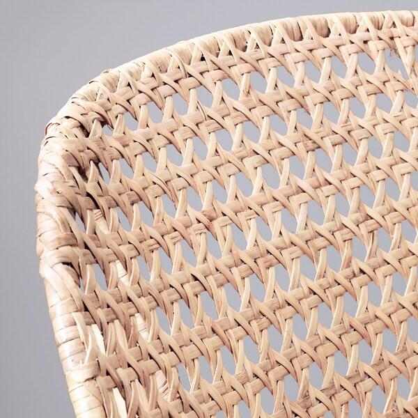 GRÖNADAL Fauteuil à bascule, gris/naturel