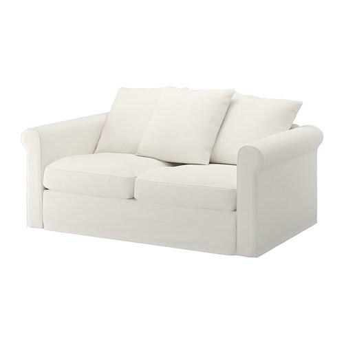 gr nlid canap 2 places inseros blanc ikea. Black Bedroom Furniture Sets. Home Design Ideas