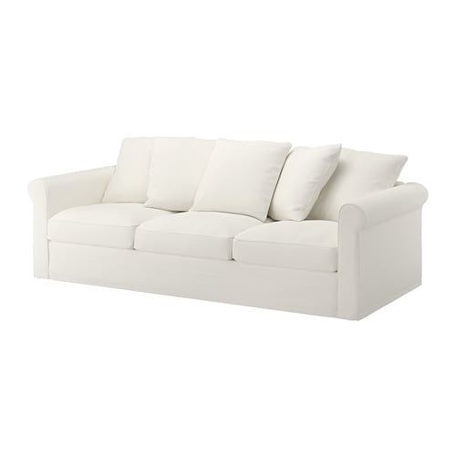gr nlid canap 3 places inseros blanc ikea. Black Bedroom Furniture Sets. Home Design Ideas
