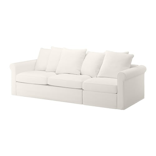 Gronlid Canape 3 Places Convertible Inseros Blanc Ikea